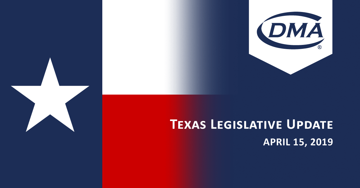 Texas Legislative Update April 16, 2019