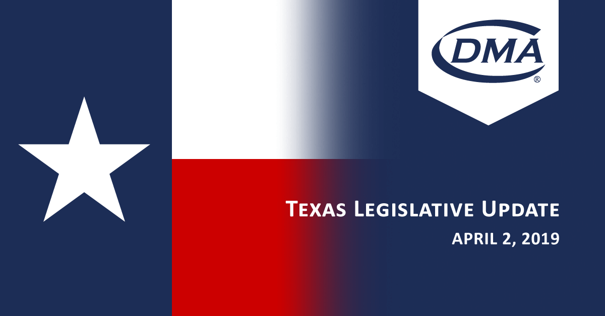 Texas Legislative Update - April 2, 2019