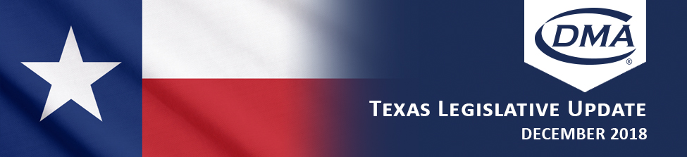 Texas Legislative Update Banner