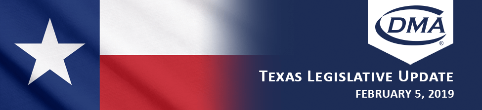Texas Legislative Update Blog February 5, 2019